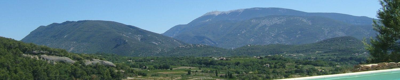 Location au pied du Mont-ventoux